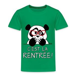 Panda désespéré, C'est la Rentrée!