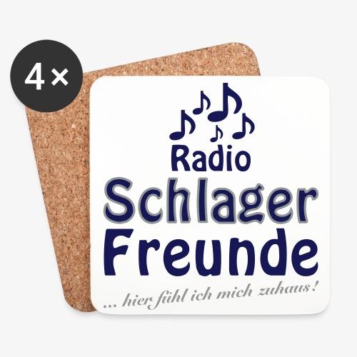 RSF Fan - Untersetzer 4 tlg. - Untersetzer (4er-Set)