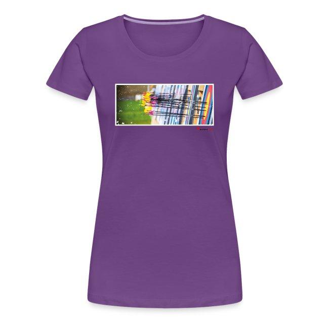 Frauen Premium T-Shirt - Target