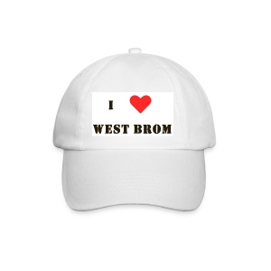 I love West Brom - Baseball Cap