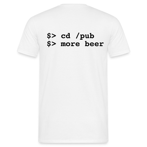 More beer - T-shirt Homme