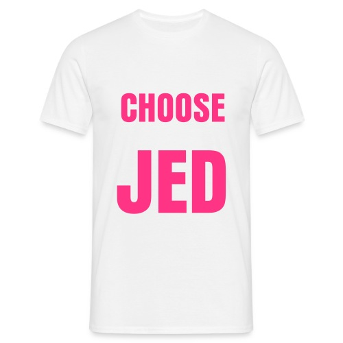 Choose Jed - Men's T-Shirt