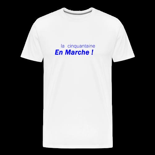cinquantaine en marche - T-shirt Premium Homme