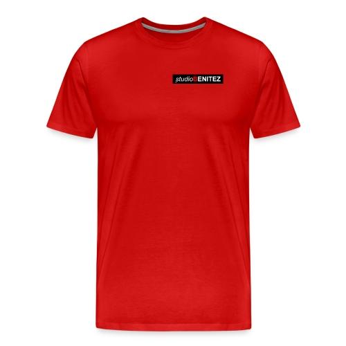 T-shirt HOMME / FEMME Studio Benitez Rouge - T-shirt Premium Homme