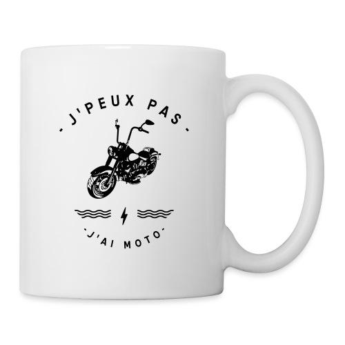 J'PEUX PAS J'AI MOTO - Mug blanc
