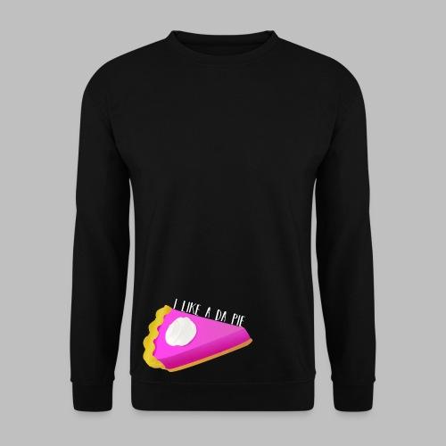 Pink Pie Slice - Men's Sweatshirt