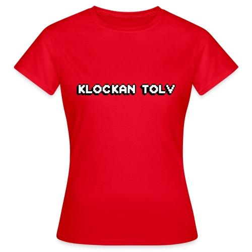 KLOCKAN TOLV - T-shirt dam