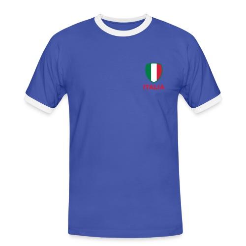 T-shirt Italia - T-shirt contrasté Homme