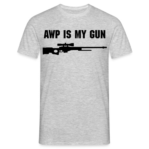 AWP is my GUN here - Herre-T-shirt