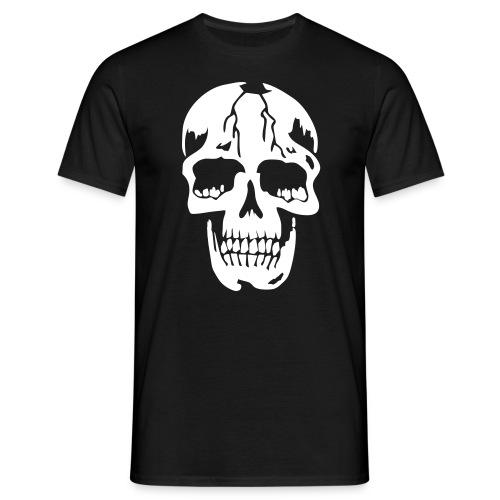 Basis t-skjorte hodeskalle - T-skjorte for menn