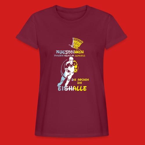 Eishockeyprinzessin T-Shirts - Frauen Oversize T-Shirt