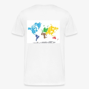 Mens World Map t-shirt - Men's Premium T-Shirt