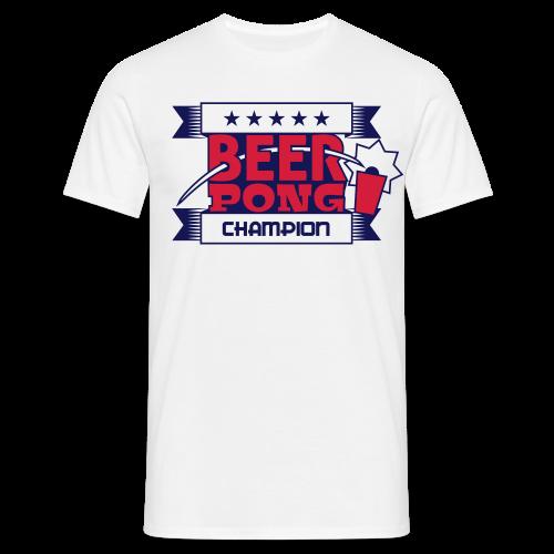 NEW  Beer Pong Champion T-shirt - Männer T-Shirt