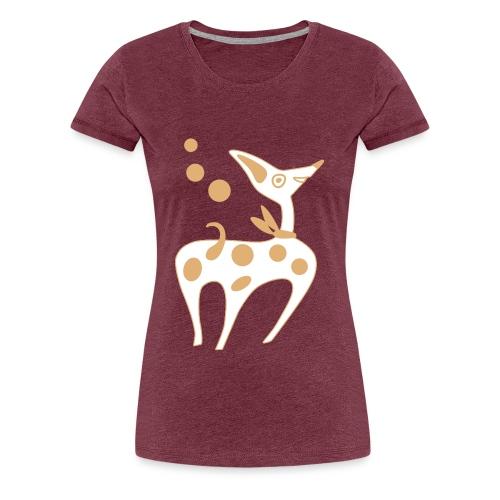 funny puppy - Women's Premium T-Shirt