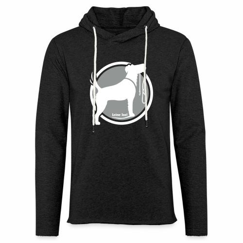 Leine los Irish Terrier - Leichtes Kapuzensweatshirt Unisex