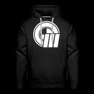 Hoodies & Sweatshirts ~ Men's Premium Hoodie ~ Logo Front & Domain on Back