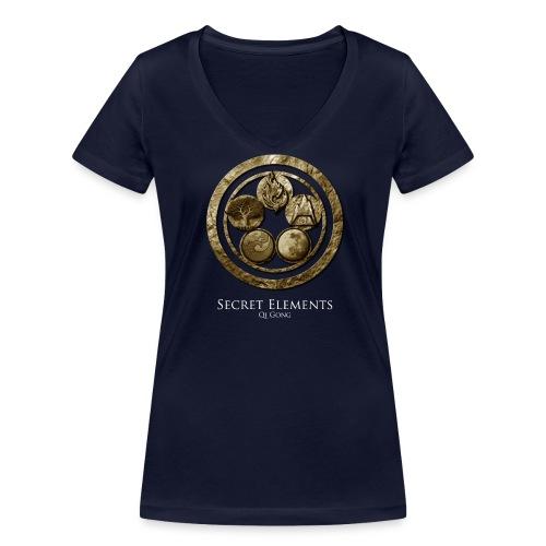 Secret Elements Teacher Shirt - Women - Frauen Bio-T-Shirt mit V-Ausschnitt von Stanley & Stella