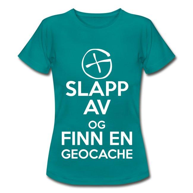 Slapp av og finn en geocache