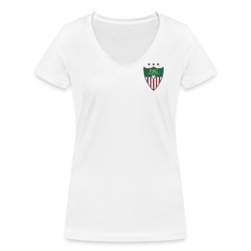 Frauen Bio-T-Shirt mit V-Ausschnitt von Stanley & Stella - Frauen Bio-T-Shirt mit V-Ausschnitt von Stanley & Stella