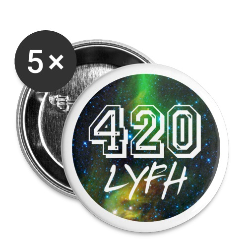 LOGO SPACE BADGE - Buttons small 25 mm