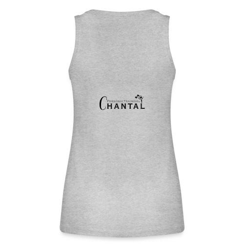 PersonalTrainingByChantal tank top grijs - Vrouwen bio tanktop van Stanley & Stella
