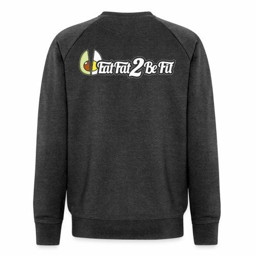 sweet logo long avant et arriere - Sweat-shirt bio Stanley & Stella Homme