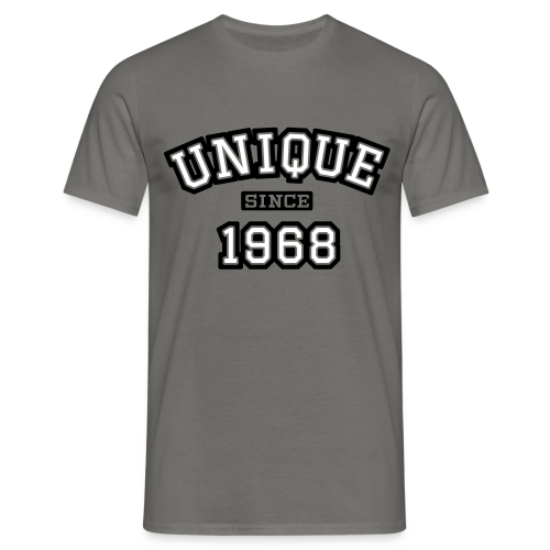 Unique 1968 T-Shirt - Männer T-Shirt