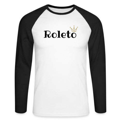 Long Sleeved Roleto Designer TShirt - Men's Long Sleeve Baseball T-Shirt