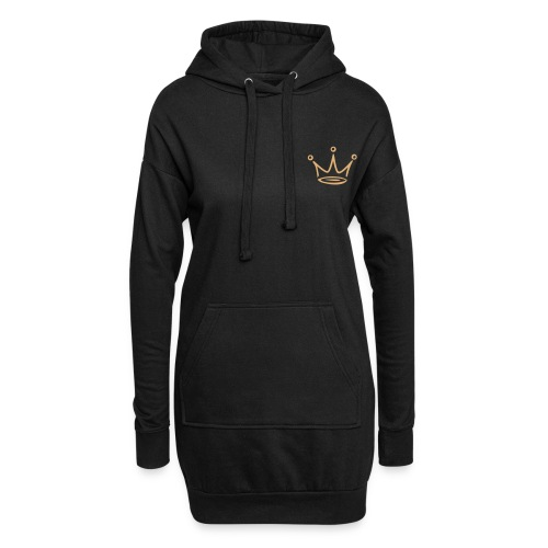 Womens Crown Hoodie - Hoodie Dress