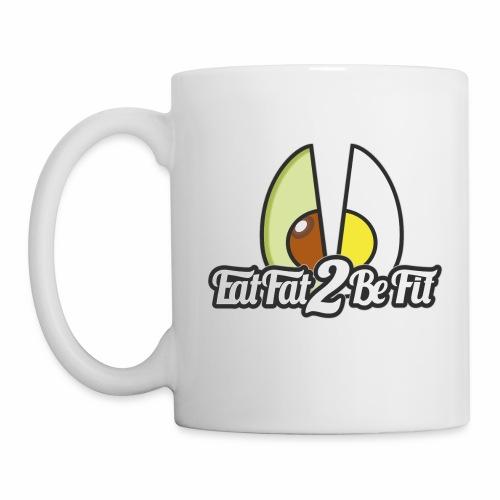tasse blanche et Logo - Mug blanc