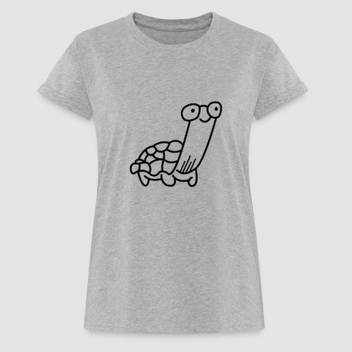 Hi5 Frauen T-Shirt TURTLE - Frauen Oversize T-Shirt