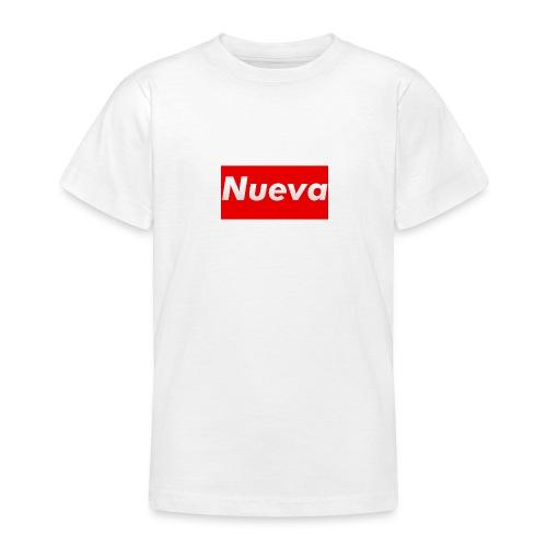 Kids Nueva Box Logo T Shirt - Teenage T-shirt