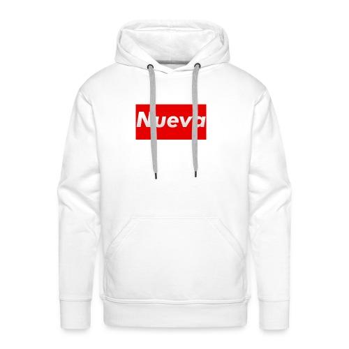 Mens Nueva Box Logo Hoodie - Men's Premium Hoodie