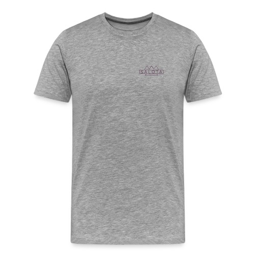 Salota Premium Grey T-Shirt - Men's Premium T-Shirt