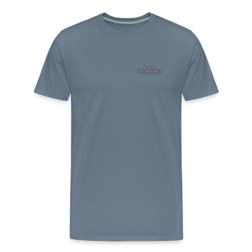Salota Premium Steel Blue T-Shirt - Men's Premium T-Shirt