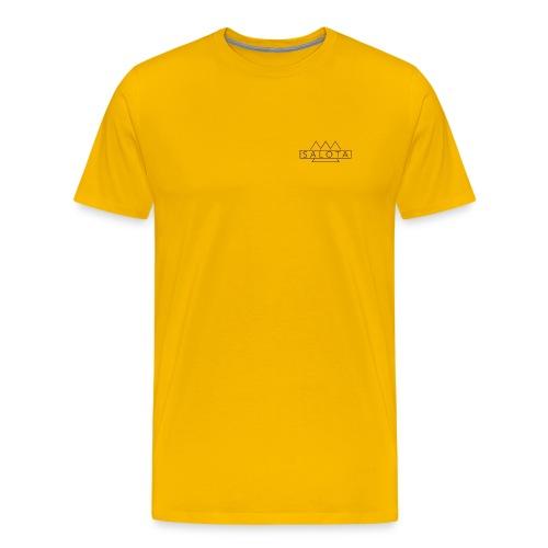 Salota Premium Sun Yellow T-Shirt - Men's Premium T-Shirt
