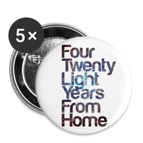 420LYFH BADGE - Buttons small 25 mm