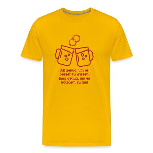 Junggesellenabschied Hoorray - Männer Premium T-Shirt
