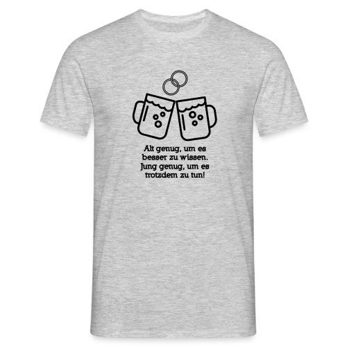 Junggesellenabschied Hoorray - Männer T-Shirt