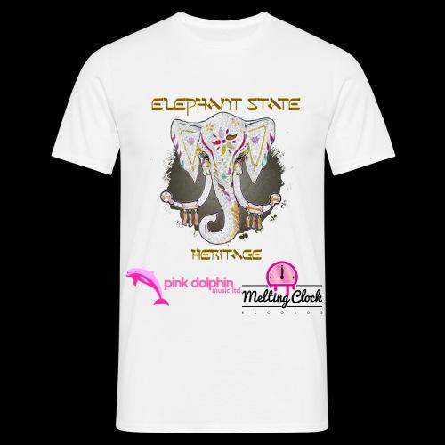 Elephant State - Heritage t-shirt - Men's T-Shirt