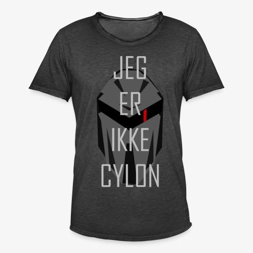 Jeg er ikke en Cylon - Vintage-T-skjorte for menn