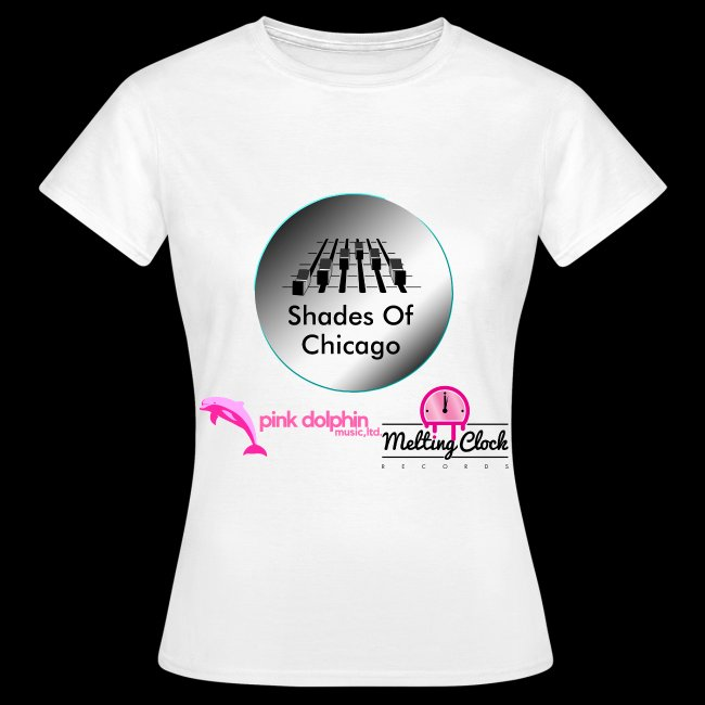 Shades Of Chicago logo Lady's t-shirt