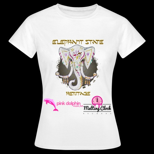 Elephant State - Heritage Lady's t-shirt - Women's T-Shirt