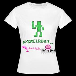 PixelRust logo Lady's t-shirt - Women's T-Shirt