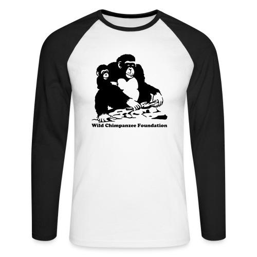 WCF Men's Raglan Long Sleeve - Men's Long Sleeve Baseball T-Shirt