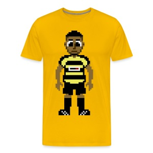 Nahki Wells Pixel Art T-shirt - Men's Premium T-Shirt