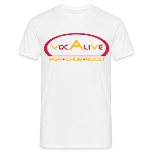 Männer Comfort T Shirt Weiss - bis XXXL - Männer T-Shirt