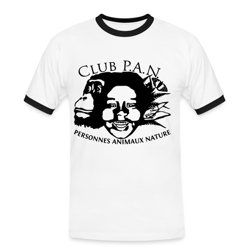 Club P.A.N. Men's Contrast T-Shirt - Men's Ringer Shirt