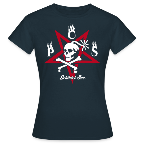 Ärsche müssen getreten werden - Pentagramm - Frauen T-Shirt