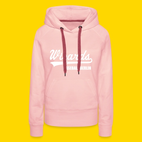 Wizards Hoody Frauen WHITE EDITION - Frauen Premium Hoodie